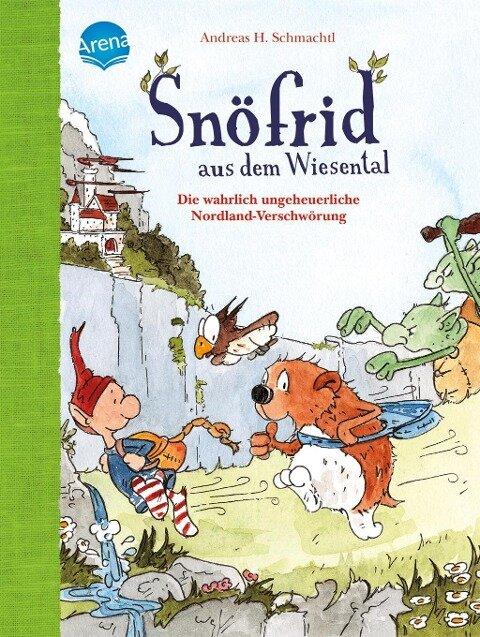 Snöfrid aus dem Wiesental (4). Die wahrlich ungeheuerliche Nordland-Verschwörung - Andreas H. Schmachtl