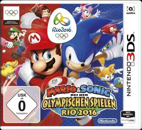 3DS. Mario & Sonic bei den Olympischen Spielen: Rio 2016 -