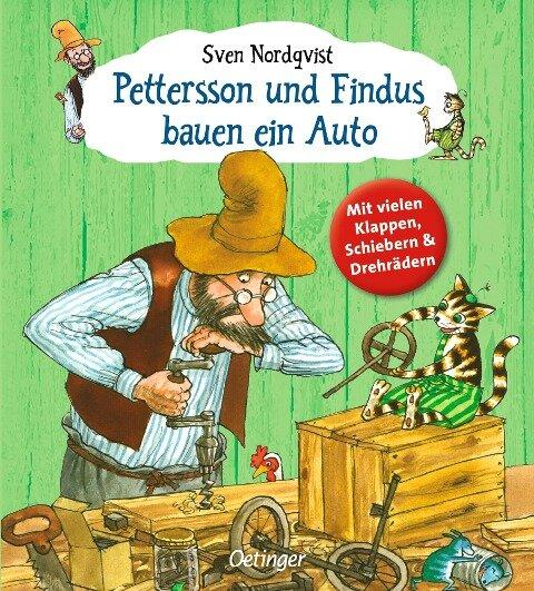 Pettersson und Findus bauen ein Auto - Sven Nordqvist