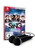 Let's Sing 2019 mit deutschen Hits [+ 2 Mikrofone] (Nintendo Switch) -