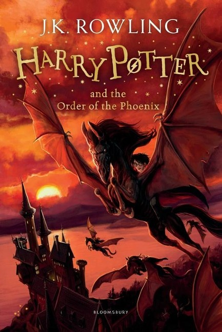 Harry Potter 5 and the Order of the Phoenix - Joanne K. Rowling