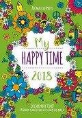 Ausmal-Timer Happy Time 2018 -