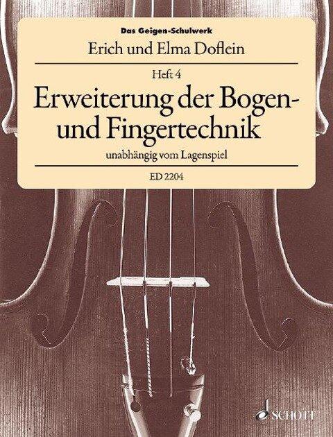 Das Geigen-Schulwerk - Erich Doflein, Elma Doflein