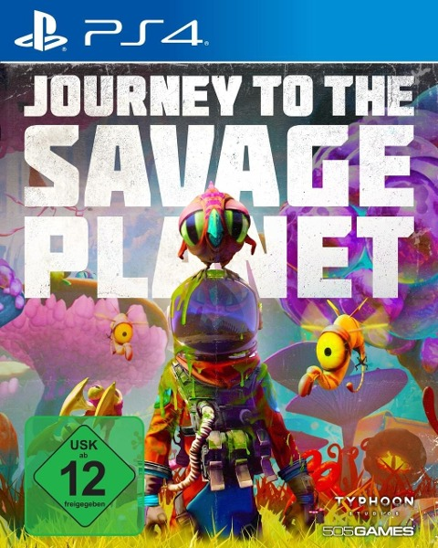Journey to the Savage Planet (PlayStation PS4) -